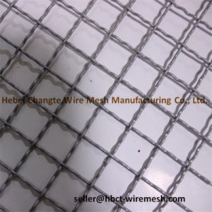 65mn 45mn Steel Weave Crimped Screen Mesh for Mining pictures & photos