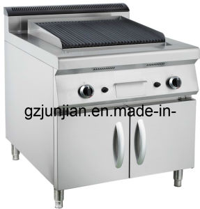 Gas Lava Rock Chargrill Pasta Cooker with Cabinet (LUR- 889A) pictures & photos