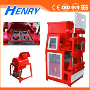 Hr2-10 Hydraulic Lego Brick Making Machine Soil Clay Interlocking Brick Machine Siemens Motor pictures & photos
