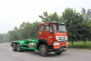 Sinotruk Euro IV 6X4 Detachable Container Garbage Truck pictures & photos