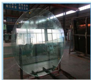 Round Frosted Glass with Grinding Edge pictures & photos