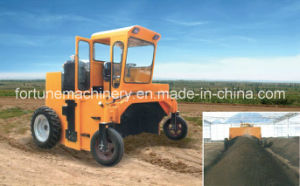 Machanically Driven Self-Propelled Compost Turner
