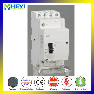 Modular Contactor 4p 240V 50Hz 16A Hand Operate DIN Rail Electrical Type pictures & photos