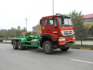 Sinotruk Euro IV 6X4 Detachable Container Garbage Truck