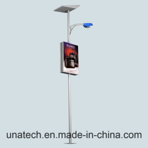 Street Light Column Advertising LED Polyester Banner Flex Billboard Side Light Box pictures & photos