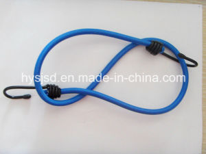 Customer Popular Elastic Latex 8mm Metal Hook Bungee Cord pictures & photos