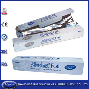 Recyclable Aluminum Foil Roll for Food Packing pictures & photos