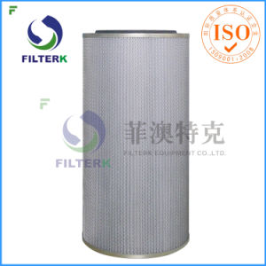 Filterk Pleated Cotton Fiberglass Air Filter pictures & photos