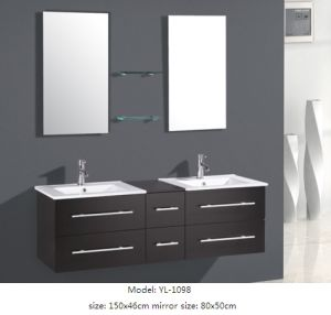 Sanitary Ware Furniture Bathroom Cabinet with Mirror