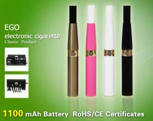 Electronic Cigarette Ego With Different E-Liquid