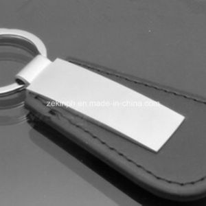 Factory-Direct Customzied Leather PU Metal Keychain pictures & photos