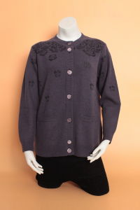 Gn1620 Yak Wool / Cashmere Cardigan / Knitted Wool Sweaters/Clothing/Knitwear/Textile pictures & photos