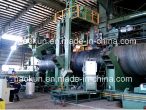 Spiral Pipe Machine Spiral Forming Machine Tack-Final Welding pictures & photos