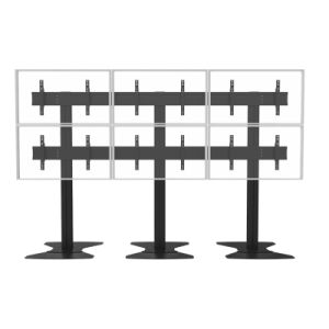 """Video Wall Stand Floorbase 6 Screens 40-50"""" (2*3) (AW 600A) pictures & photos"""