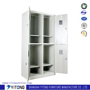 Yitong 4-Door Metal Storage Cabinet / Office Use Steel Locker pictures & photos