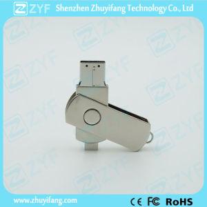 2015 New Design Metal Twist 8GB OTG USB (ZYF1603)