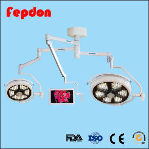 Hospital LED Shadowless Lamp with Camera System pictures & photos