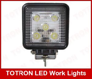 900lm 15W 9-32V Square LED Spot Work Light, T1015R