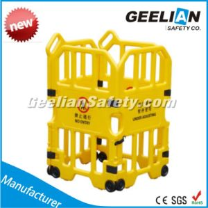 Traffic Pedestrian Safety Barrier, Plastic Guardrail, Traffic Road Safety Platsic Barrier Fence pictures & photos