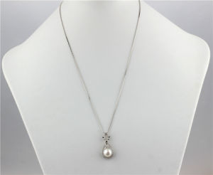 Natural Freshwater Pearl Pendant 925 Silver pictures & photos