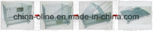 Stackable Storage Metal Wire Mesh Container pictures & photos
