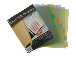 Index Tab Dividers/ Plastic File Folder (B3100) pictures & photos