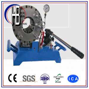 P20HP Manual 1/4′′~2′′ Portable Hand Hose Crimping Machine with Big Discount pictures & photos