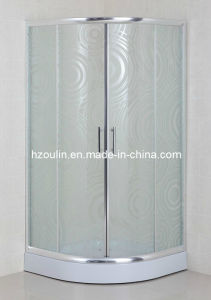 CE Certificated Acid Glass Sliding Door Shower Cubicle (AS-926) pictures & photos