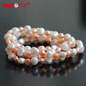 90cm Long Original Baroque Pearl Necklace Wholesale (E130100) pictures & photos
