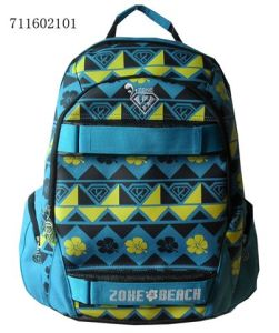 Fashion Printing Color School Bag Promotion Backpack pictures & photos