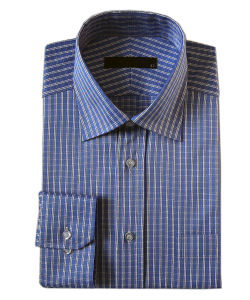 Men′s Non-Iron Cotton Dress Shirts (PL-M-SHT012)
