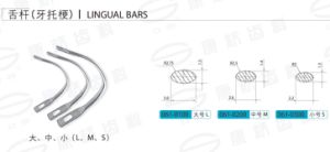 Lingual Bars pictures & photos