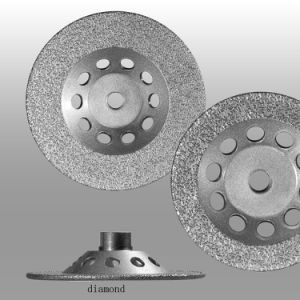 Cup Grinding Wheel-Vacuum Brazed Diamond Wheel for Grinding pictures & photos