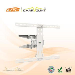 37-70 Inch Dual Arm Articulating Curved TV Mount Holder (CT-WPLB-M102W) pictures & photos