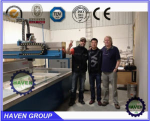 CNC Water Jet Cutting Machine CUX400-SQ3020 pictures & photos