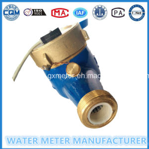 Brass Pulse Output Impulse Water Meter Made in China pictures & photos