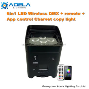 6X12W 6in1 Irc Wireless Battery Light with APP Control Chauvet Copy pictures & photos