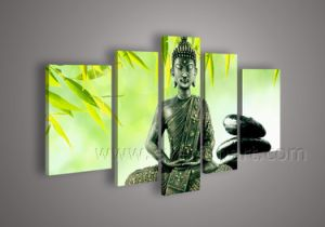 Modern Buddhas Oil Painting for Wall Decoration (BU-009) pictures & photos