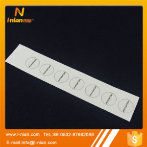 Custom Printing Transparent Clothing Label pictures & photos