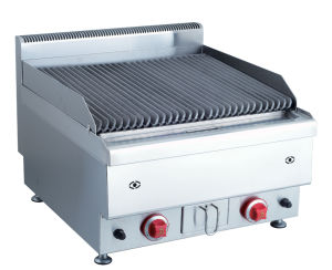 600 Range Table Top- Gas Lava Rock Grill pictures & photos