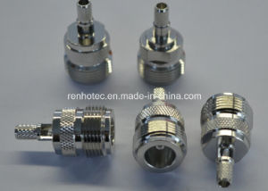 Rhos Appoval RF TNC Connector Female Solder Crimp Cable Rg58/Rg174/Rg179 pictures & photos