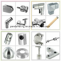 Square Handrail Bracket / Railing Fitting / Stainless Steel Balustrade Support pictures & photos