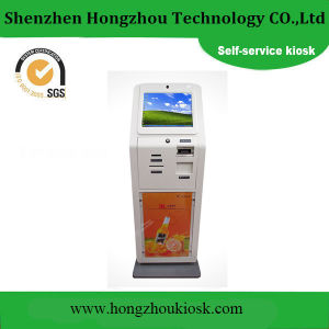 LCD Touch Screen Self Service Advertising Kiosk pictures & photos