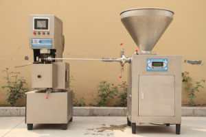 Vacuum Meat Stuffer Machine with Lift pictures & photos