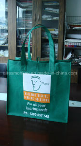 Cheap Recycled Custom Printing Grocery Tote Shopping PP Non Woven Bag pictures & photos