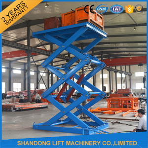 3t 7m Hydraulic Scissor Car Lifter pictures & photos