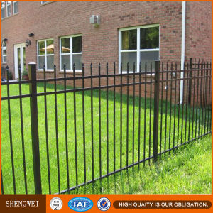 Powder Coating Ornamental Wrought Iron Fence pictures & photos