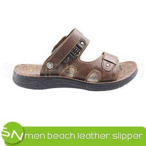 Men Sandal Casual Leather Men Sandal (SNS-05012) pictures & photos