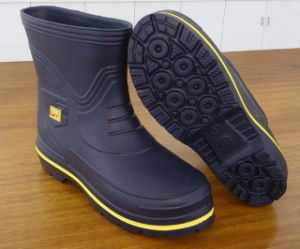 Waterproof Women EVA Rubber Fishing Hunting Boots with Printing (21ik1601) pictures & photos