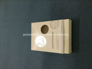 Foldable Cosmetic Packing Serum Packing Printed Carboard Box with Customised Texture